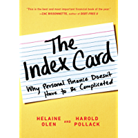 The Index Card: Why Personal Finance Doesn't Have to Be Complicated (English Edition)