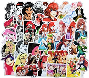 Sexy Girls Stickers 100 Pcs for Adults Men Women Cute Anime Sticker Decals for Laptop Skateboard Cars Guitar Bumper Phone Case Motorcycle - Cool Aesthetics Art Waterproof Vinyl Stickers Bomb Pack-D
