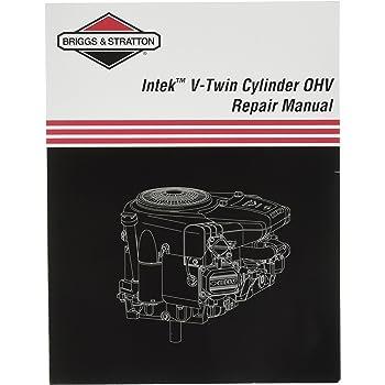 amazon com briggs stratton 273521 intek v twin ohv repair manual rh amazon com Tractor Service Manuals Tractor Service Manuals