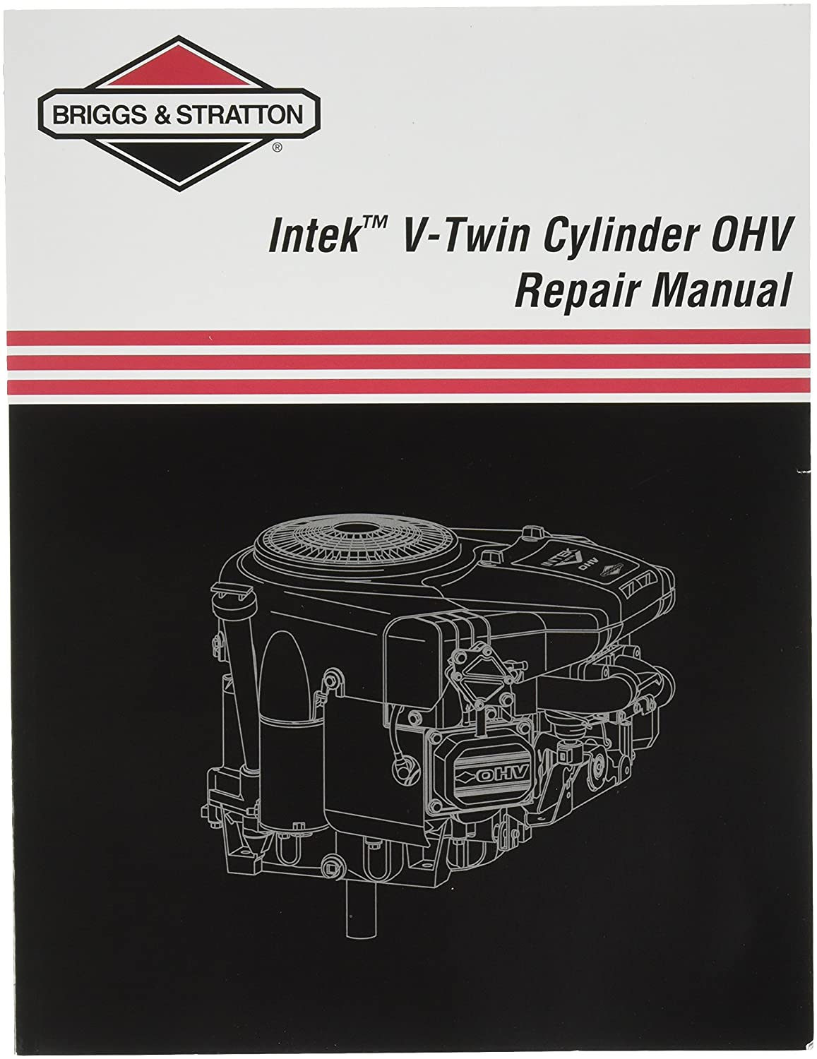Amazon.com : Briggs & Stratton 273521 Intek V-Twin OHV Repair Manual : Four  Stroke Power Tool Engines : Garden & Outdoor