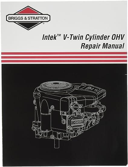 amazon com briggs stratton 273521 intek v twin ohv repair manual rh amazon com Intek Engine 445777 Carburetor Briggs and Stratton Intek Engines