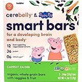 CEREBELLY Organic Carrot Raisin Cerebelly Smart Bar, 4.2 OZ