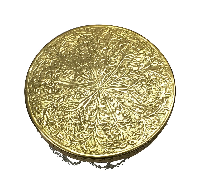 Amazon.com | GiftBay Wedding Cake Stand Round Pedestal Gold finish ...