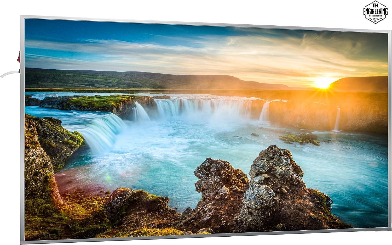 Fern Infrarotheizung mit 7 Jahren Garantie - ECO Serie Wasserfall 600W Infrarotheizung mit Bild