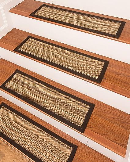 NaturalAreaRugs Lewis Sisal Carpet Stair Treads 9u0026quot; X 29u0026quot; ...