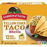 Garden of Eatin' Yellow Corn Taco Shells, 12 Count (Pack of 12)