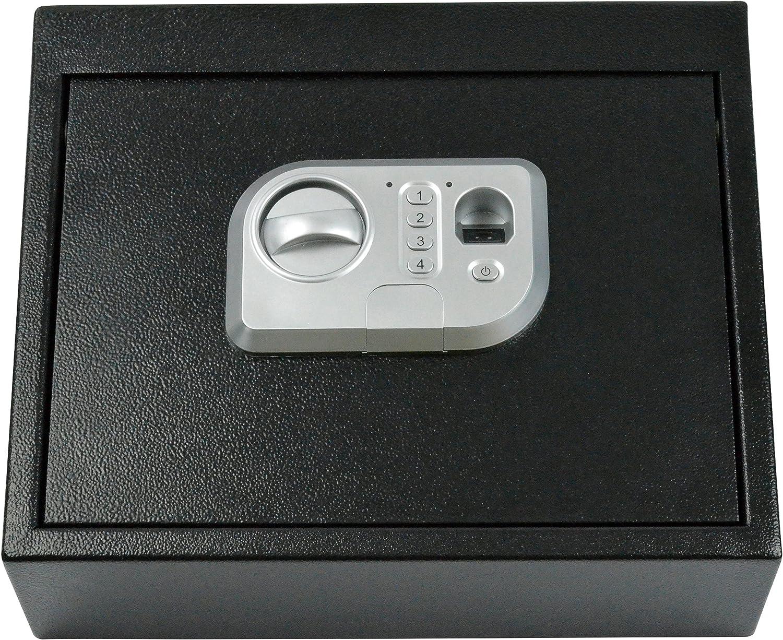 BOOMSTICK BOOM-10025Boomstick Gun Accessories Biometric Fingerprint Drawer Personal Gun Safe, Black 91f8BKbnnzLSL1500_