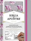 RVR 1960 Biblia de apuntes, gris y floreado tela impresa (Spanish Edition)