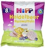 Hipp Heidelbeer Reiswaffeln, 7er Pack (7 x 30 g)