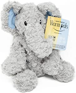 1i4 Group Warm Pals Microwavable Lavender Scented Plush Toy Stuffed Animal -Sweet Elephant