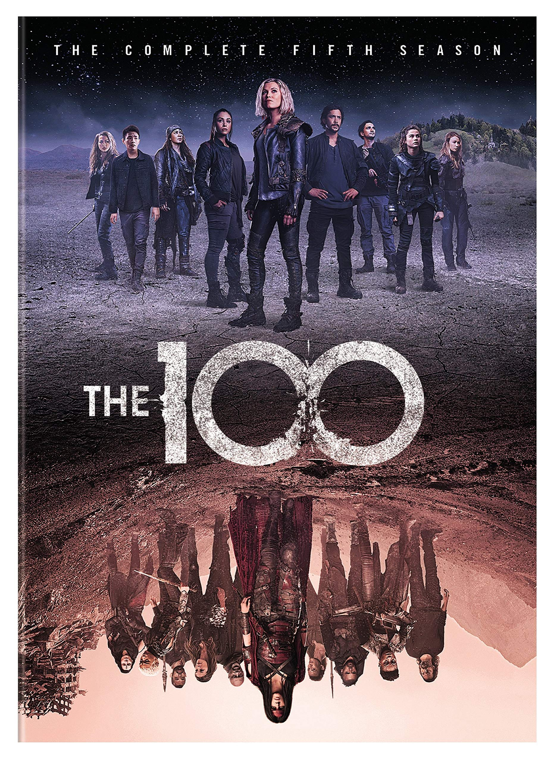 DVD : The 100: The Complete Fifth Season (Amaray Case)