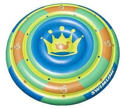 Amazon.com: Central de natación inflable High Roller Chip ...