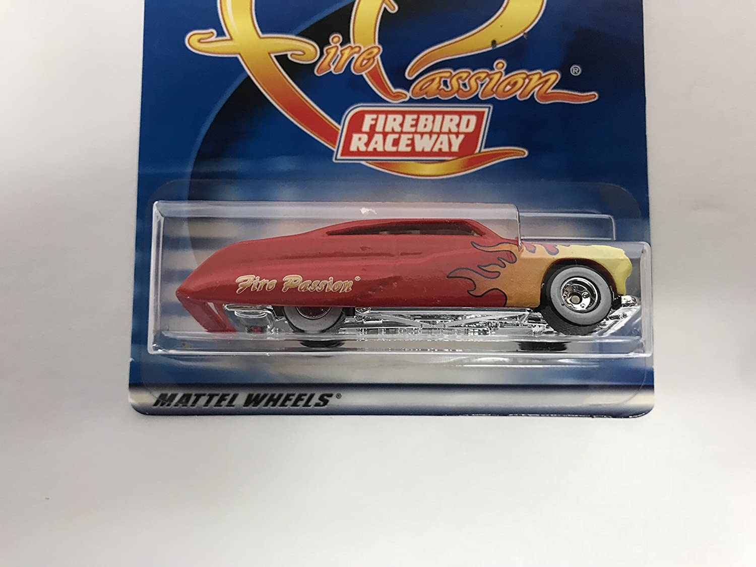 Fire Passion Red with Flames Hot Wheels 2001 Firebird Speedway special edition