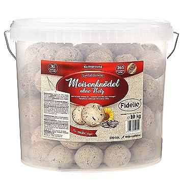 Fidelio Lot de 100 Boules de Graisse sans Filet 10 kg  Amazon.fr ... 825d3eca1b5b