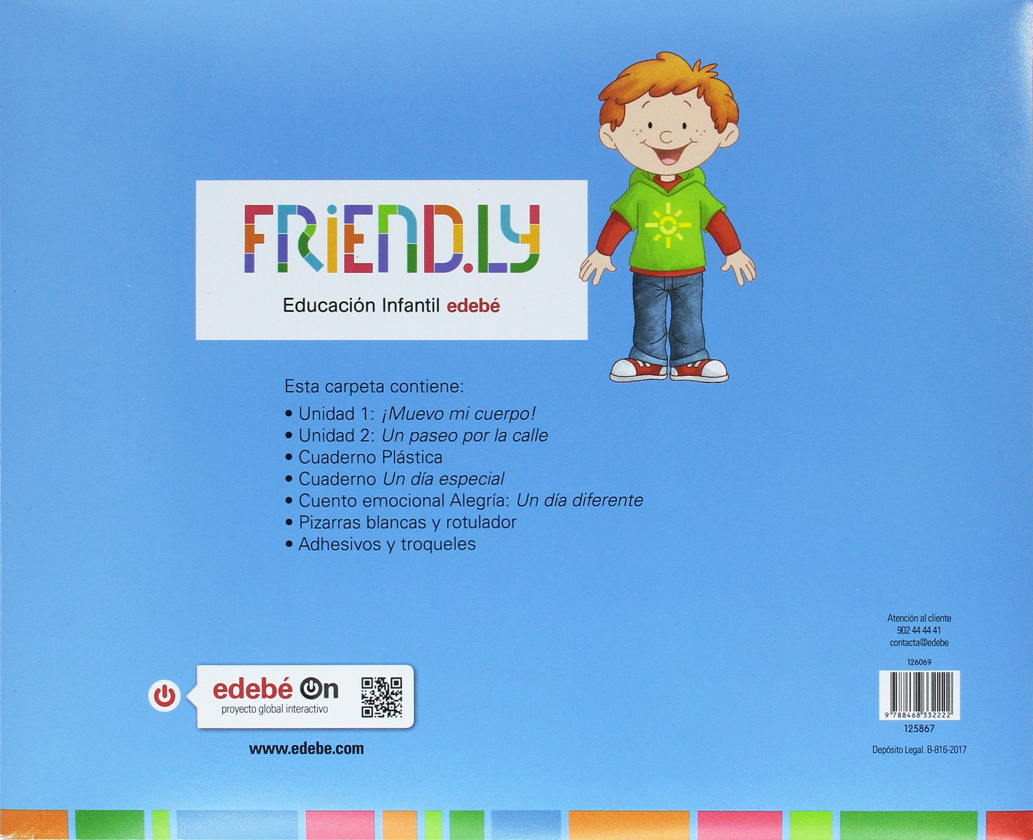 FRIENDLY 4A 1TR: Obra Colectiva Edebé: 9788468332222: Amazon.com: Books