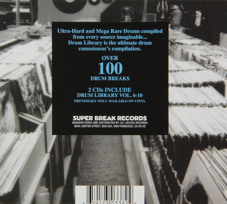Drum Library, Vol  6-10