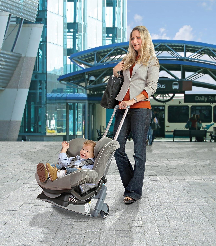 Brica Roll N Go Car Seat Travel Transporter Amazoncouk Baby