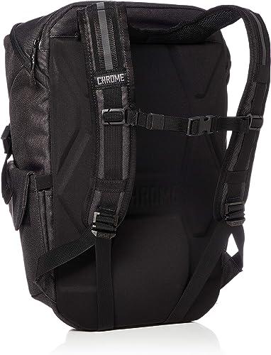 Chrome Industries Pike Backpack Utilitarian Travel Bag 22 Liter Black