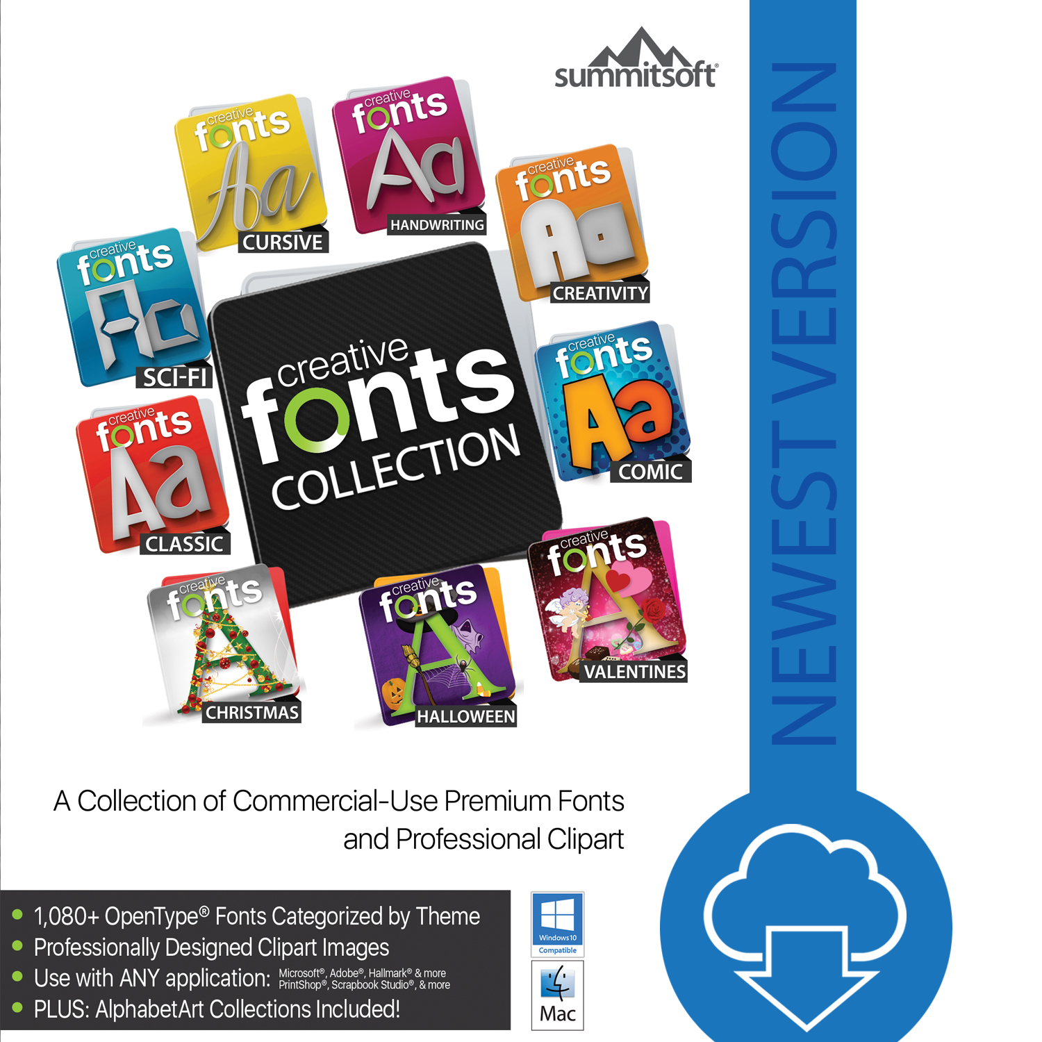 Creative Fonts Collections 2017 [Download]]()