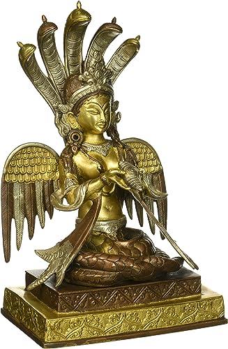 Naga-Kanya The Snake Woman – Brass Sculpture