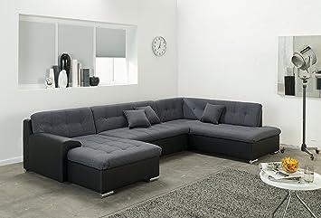 Wohnlandschaft Couchgarnitur U Form Rocky Mit Schlaffunktion 325