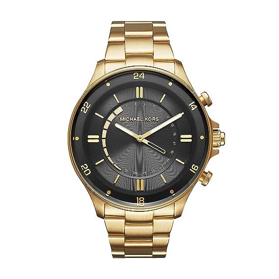 Michael Kors Reloj Analogico para Hombre de Cuarzo con Correa en Acero Inoxidable MKT4014: Amazon.es: Relojes