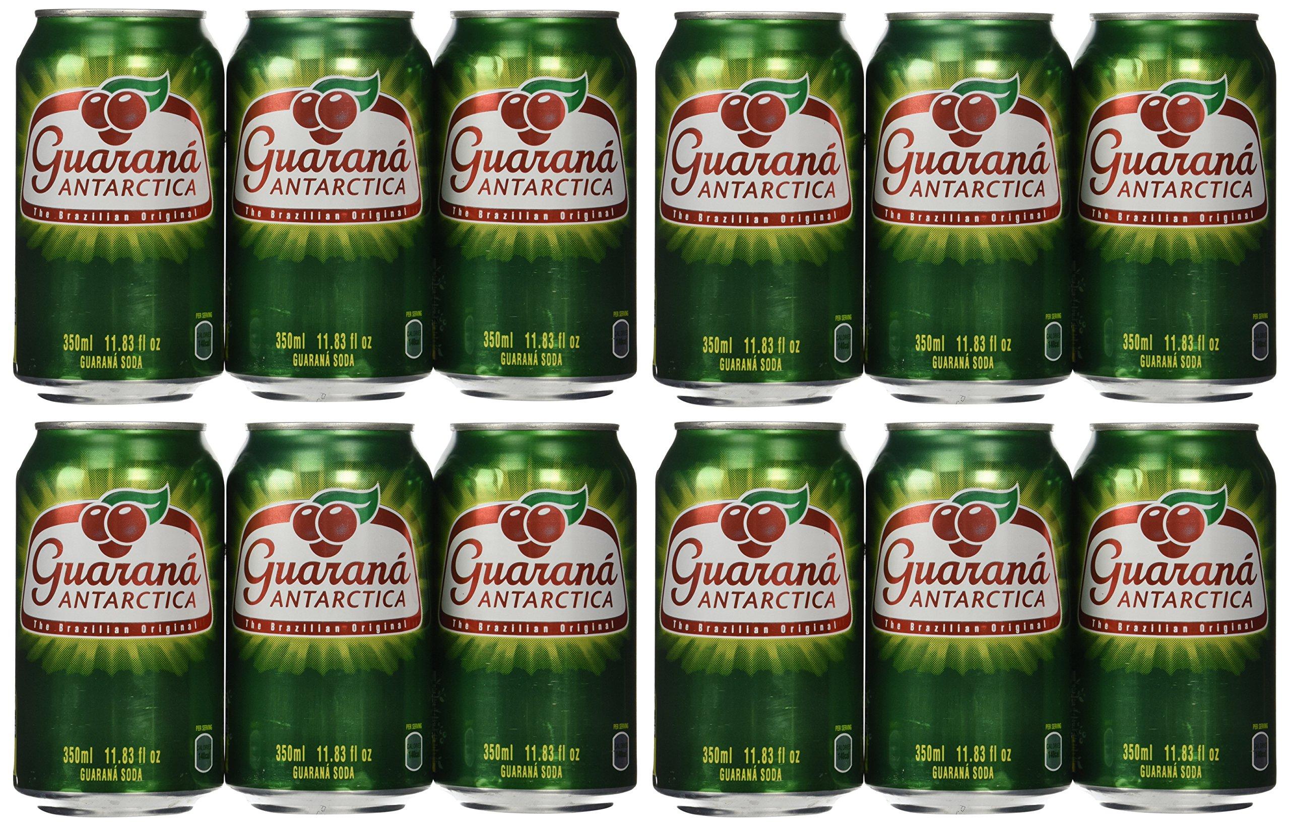 Guarana Antarctica 350ml (Pack of 12)