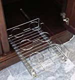 Sliding Shelf & Pull Out Under the Cabinet Kitchen, Pantry, Bathroom and Cleaning Supplies Organizer