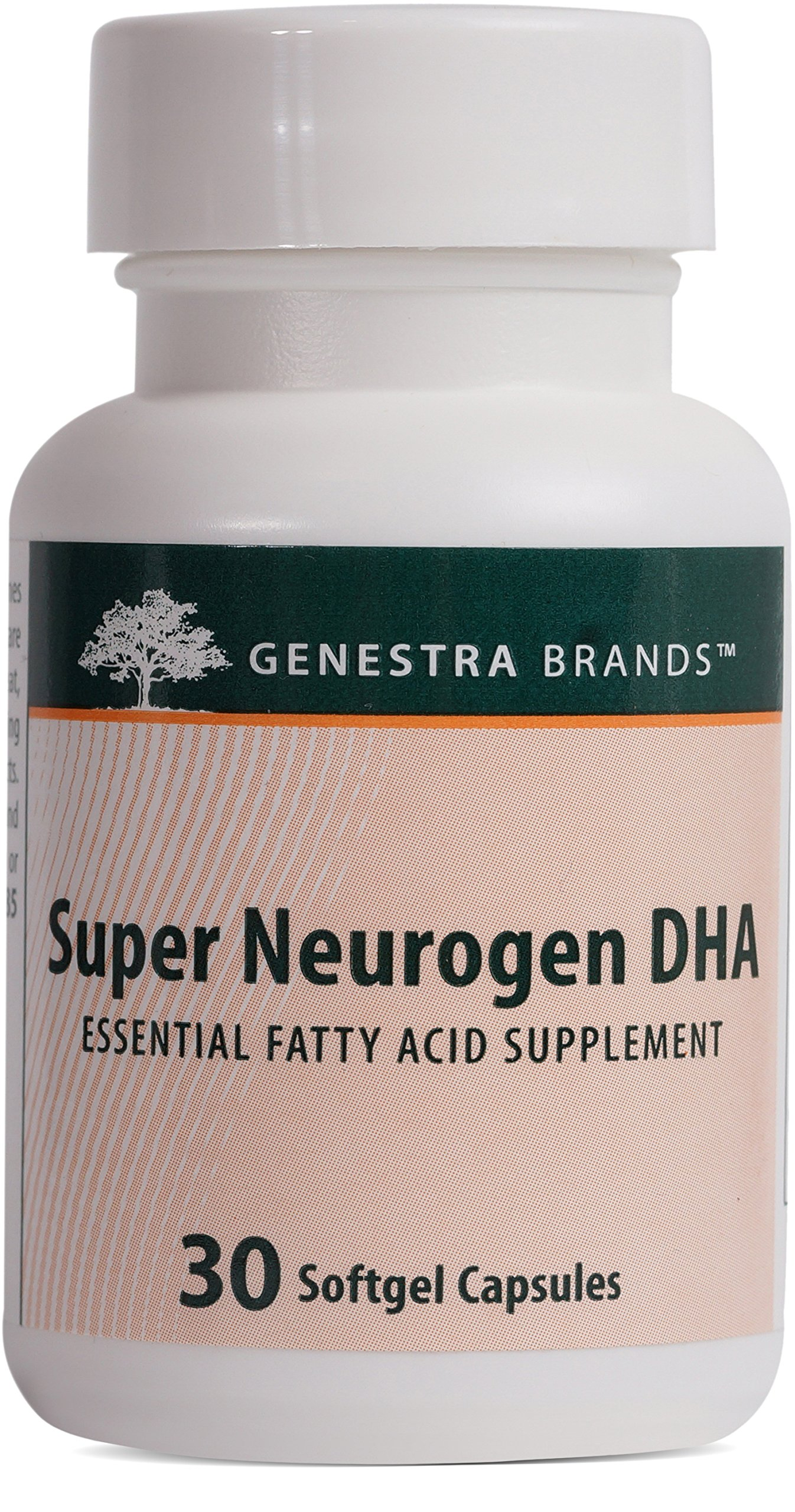 Genestra Brands - Super Neurogen DHA - Supports Memory, Cognitive and Neuronal Health* - 30 Softgel Capsules