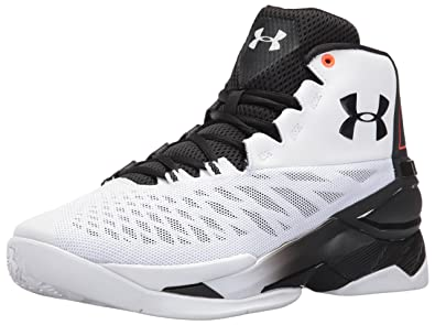 competitive price 03c23 66fe7 Under Armour Men s Longshot Basketball Shoe, White (101) Phoenix Fire, ...