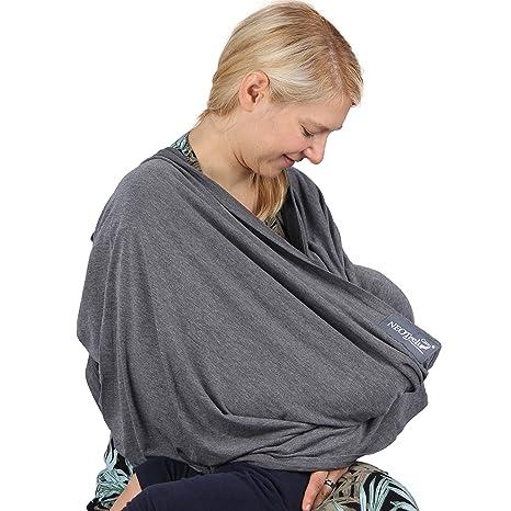 Écharpe d allaitement pour bébé servant aussi de foulard de marque Neotech  Care - Couverture 8a1e520bb6f
