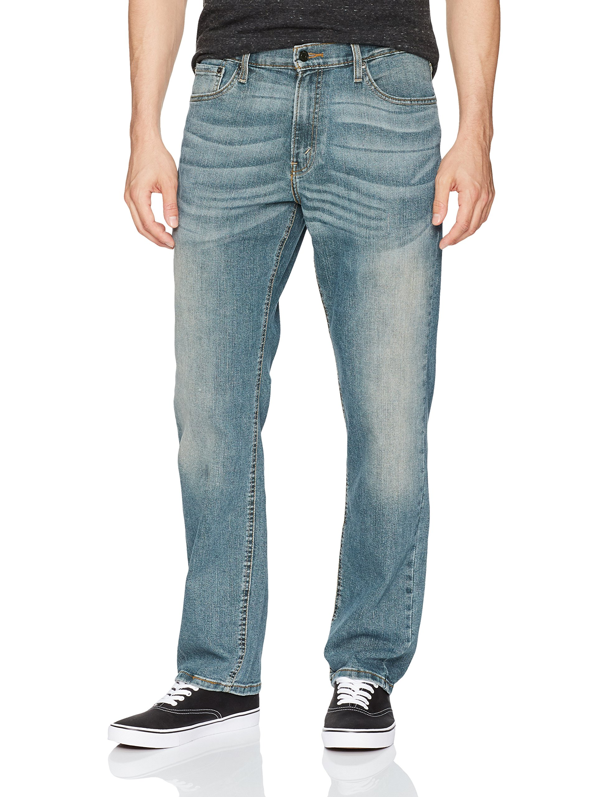 5a8911d5 Galleon - Signature By Levi Strauss & Co. Gold Label Men's Athletic Fit Jean,  Cline 36W X 34L