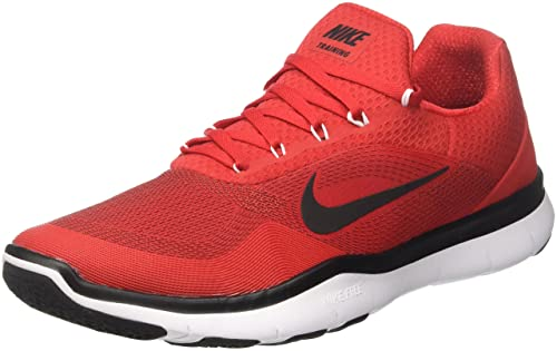 on sale 319f0 983b1 Nike Men's Free Trainer V7/Red-Blk-WHT (10 UK/India): Buy Online at ...