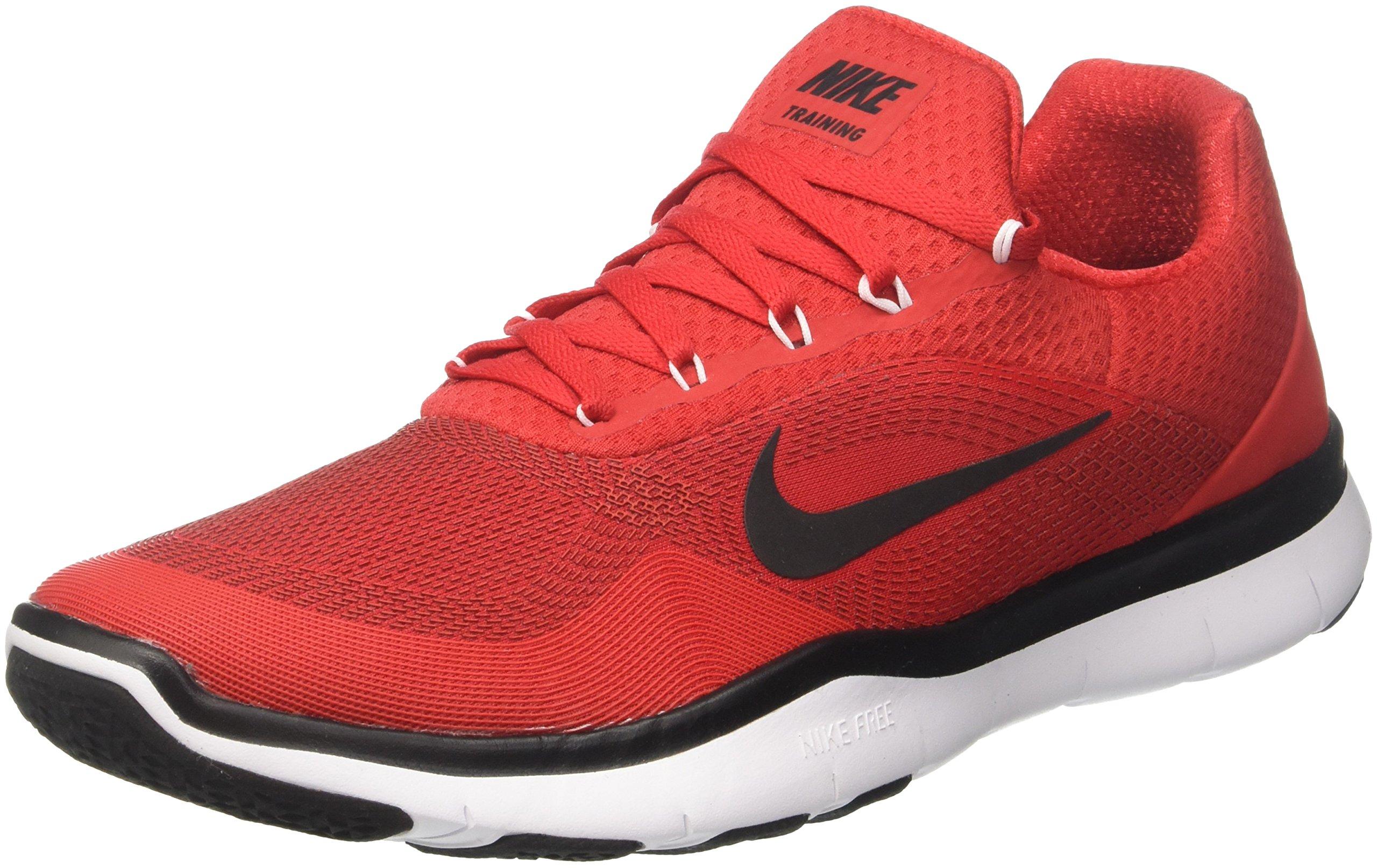 e2984247a8b5b Nike Men's Free Trainer v7 Training Shoes University Red/Black- White 10.5