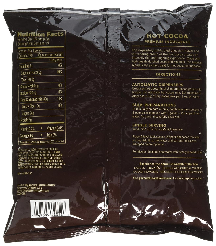 Amazon.com : Ghirardelli Chocolate Premium Indulgence Hot Cocoa ...