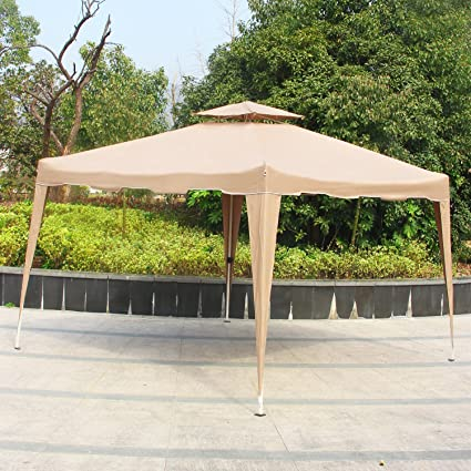 Cloud Mountain Pop Up Canopy Tent 10x10 Ft Patio Portable Instant Folding  Canopy Party Outdoor Canopy