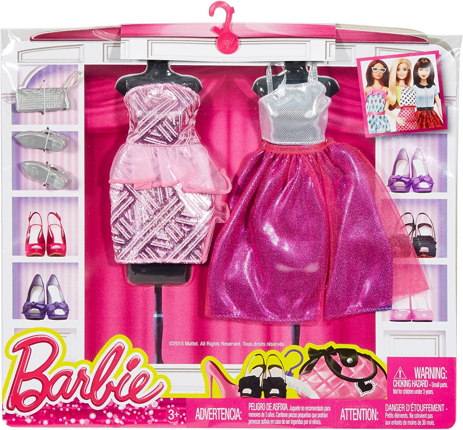 Barbie Fashions Complete Look 2-Pack Fancy