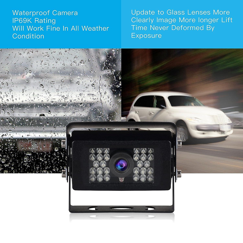 Boss Audio LPCB36 High Resolution Rear View Car License Plate Mount Camera