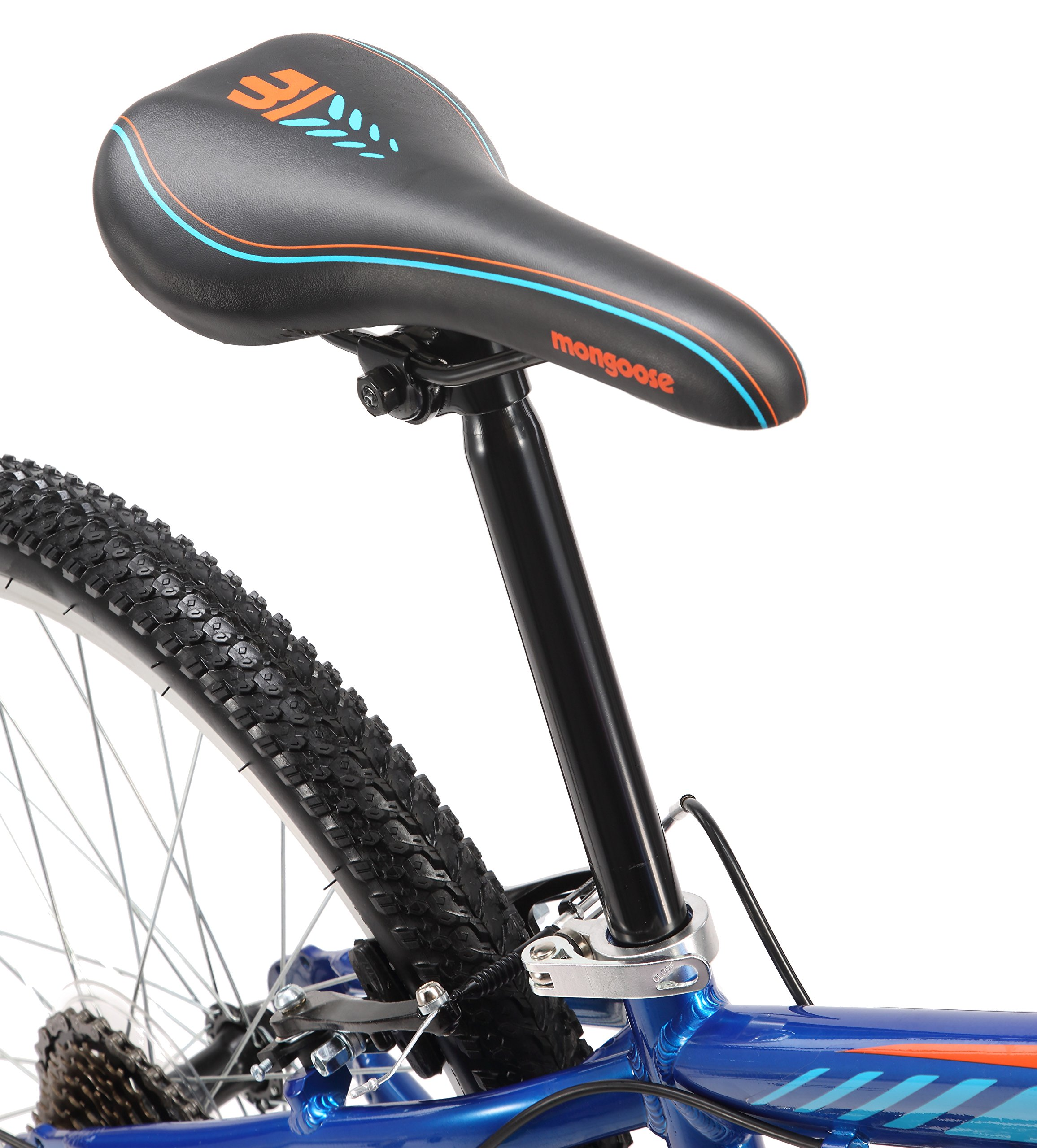 Mongoose Camrock 24'' Wheel Mountain Bicycle, Blue, One Size by Mongoose (Image #6)