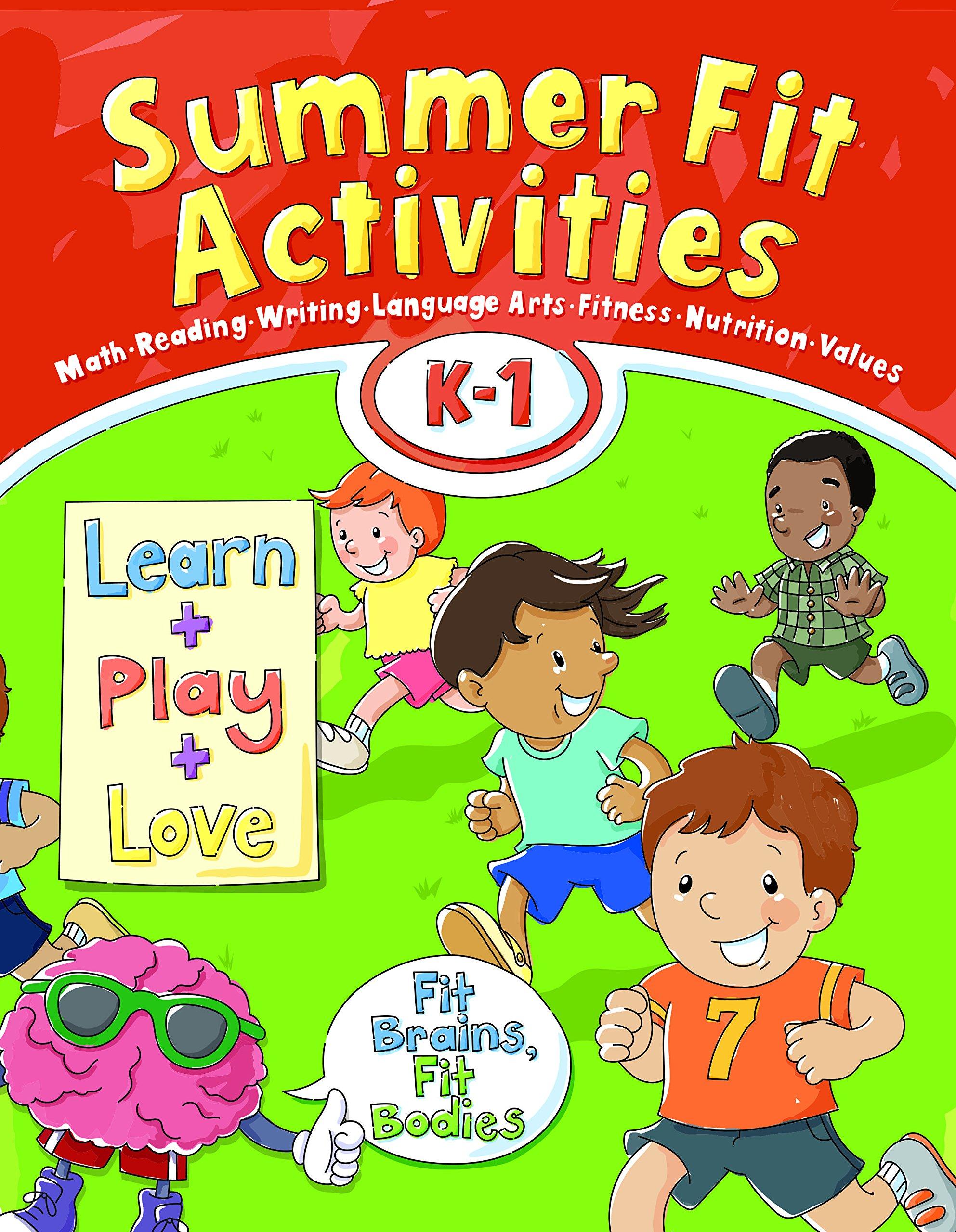 Summer Fit, Kindergarten - First Grade: Inc Active Planet