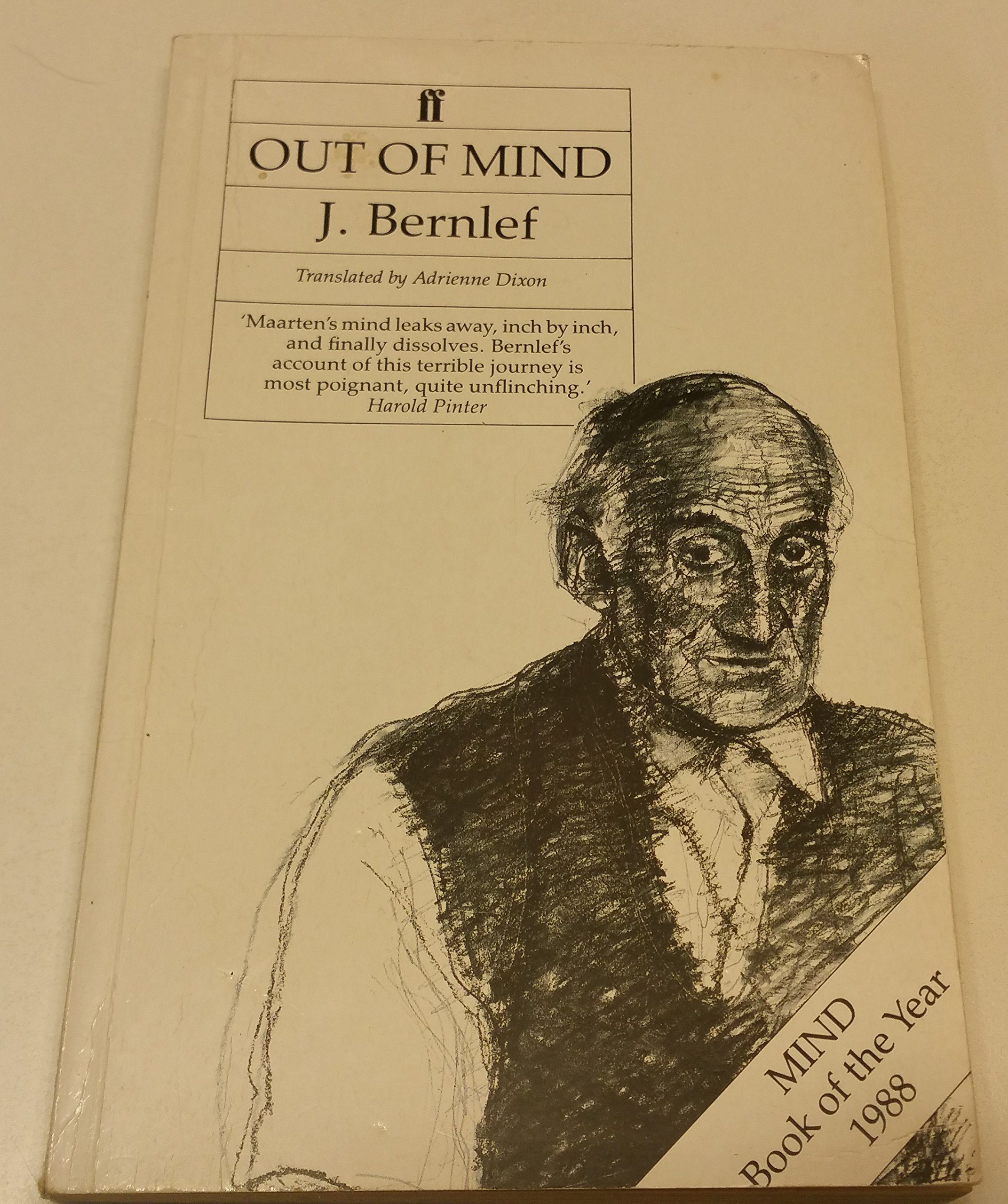 Out Of Mind Amazoncouk J Bernlef A Dixon