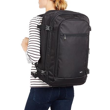 AmazonBasics 46 Ltrs Carry-On Travel Backpack, Black