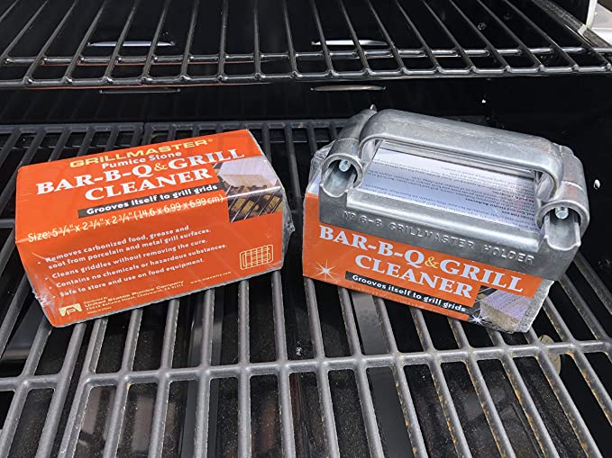 Amazon.com: Grillmaster bq-12 Bar-B-Q y piedra pómez para ...