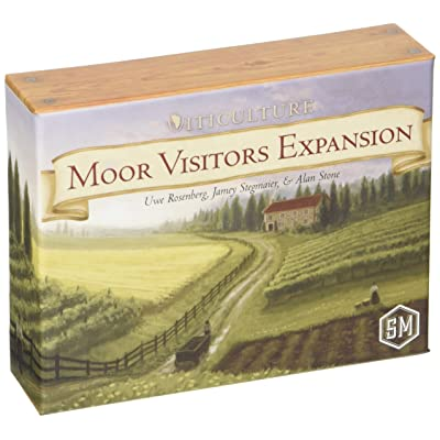 Stonemaier Games Viticulture: Moor Visitors Expansion: Toys & Games