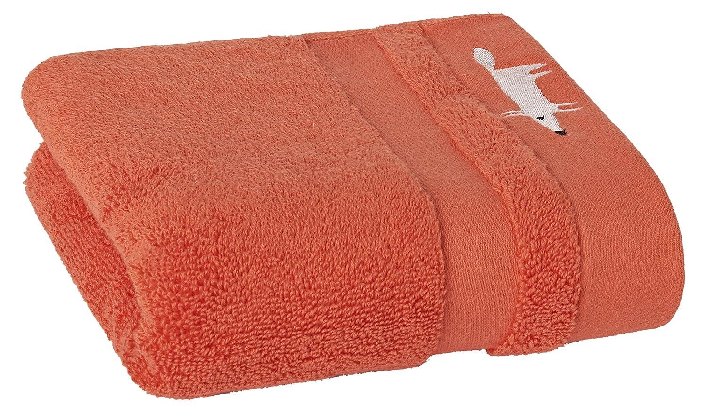 Scion 2658 Mr 16 x 28 Fox Solid Hand Towel-Cinnamon