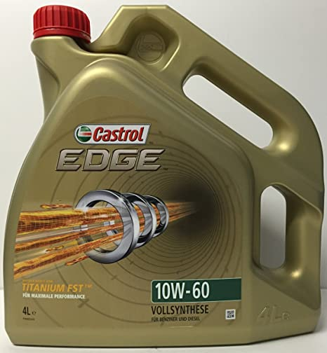 Castrol 20577065 Edge - Aceite sintético de motores de turismos (10W-60, 4