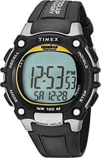 c2a74bb6a14 Amazon.com  Timex Men s T5E901 Ironman Classic 30 Gray Black Resin ...