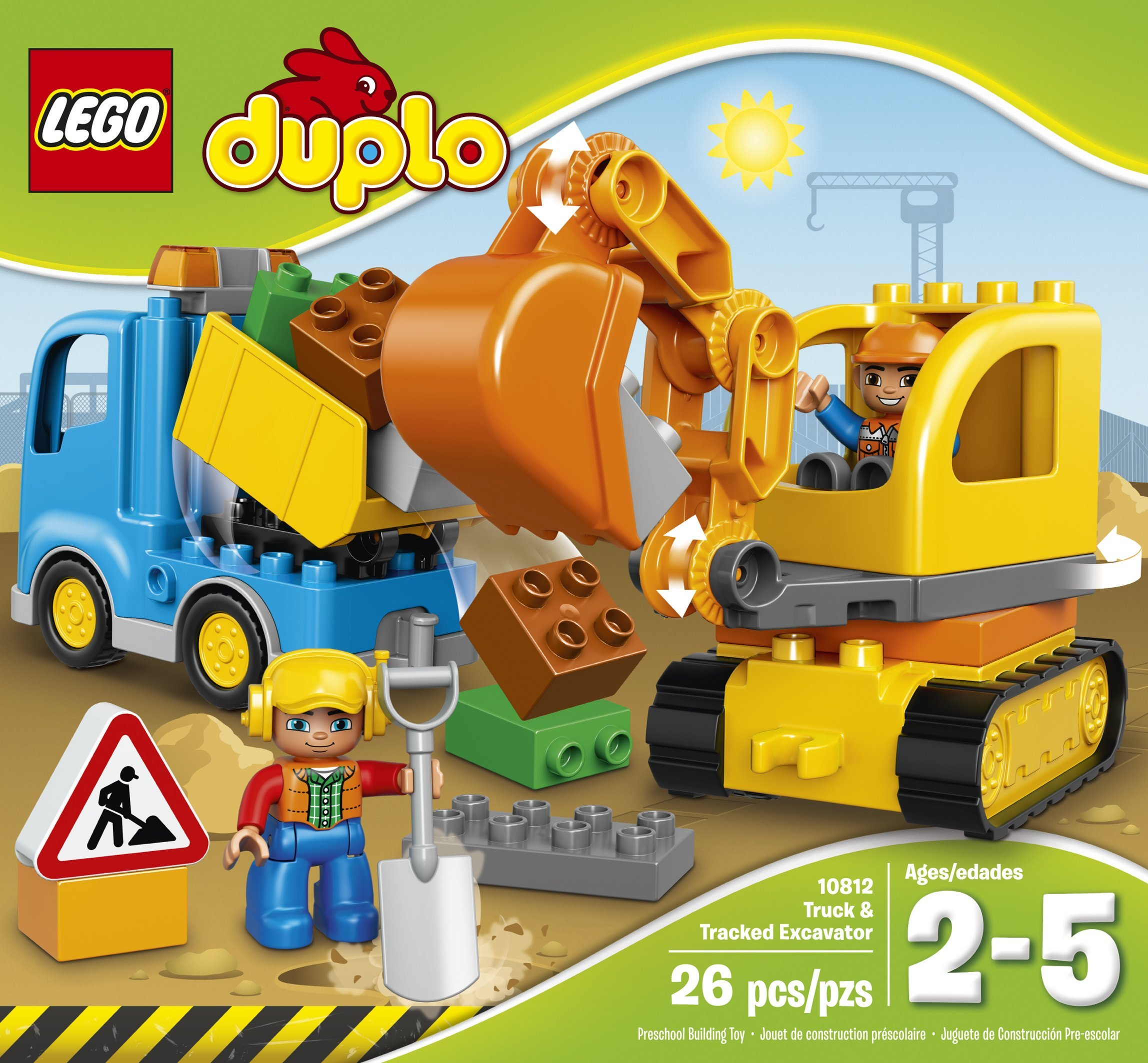 LEGO DUPLO Town Toddler Truck Toy by LEGO (Image #2)