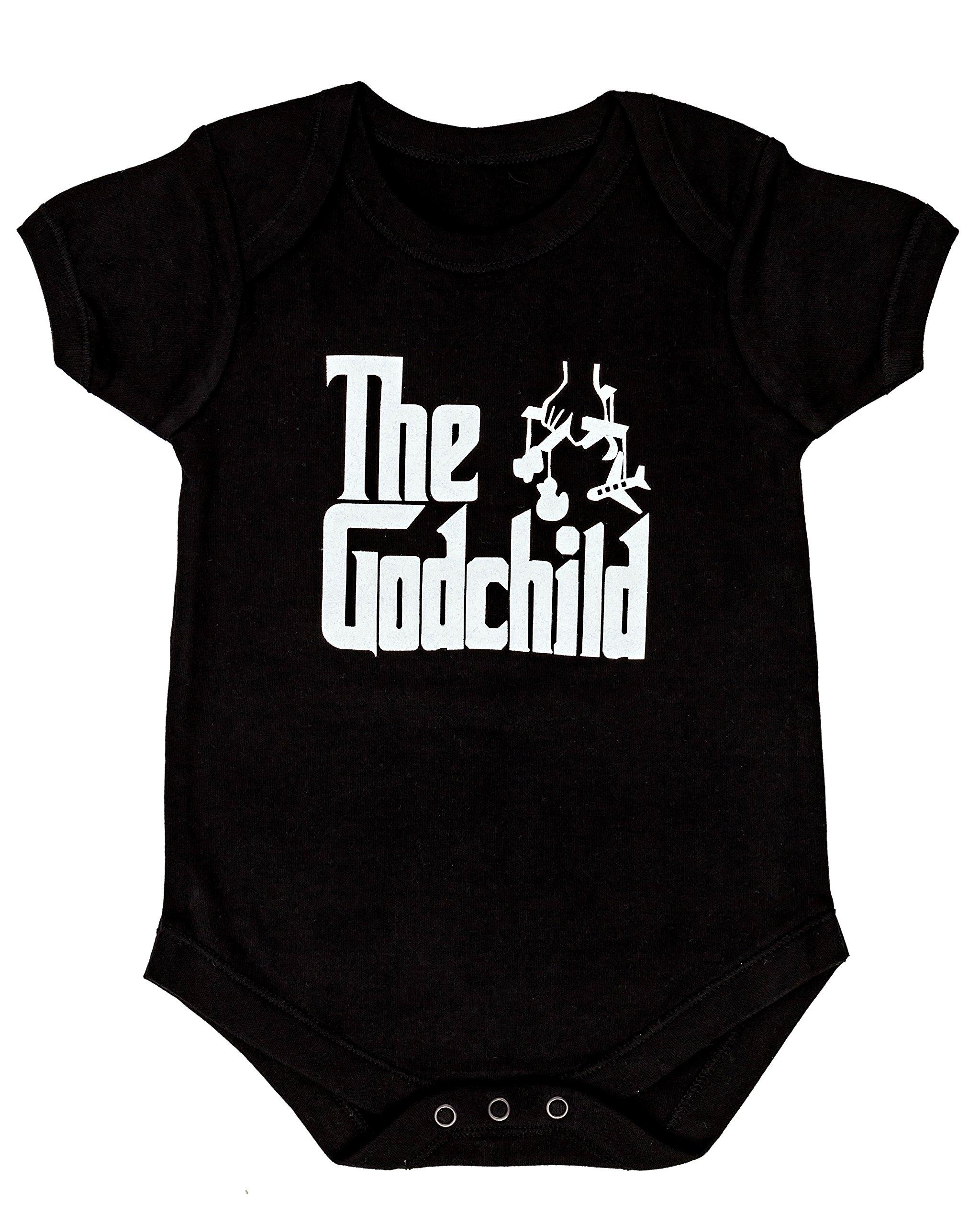 The Godson Cute Baby Bodysuit Onesie by Igloo /& Matching bib