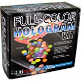 Litiholo Full Color Make Your Own 3D Laser Holograms Deluxe Kit